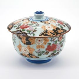 Japanese cup with lid picture botan