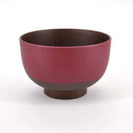 red bowl for Miso soup Ø10,7xH7cm