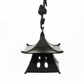 Great cast iron wind bell from Japan, IWACHU, pagoda