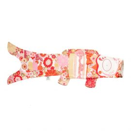 red koi carp-shaped windsock KOINOBORI KIMONO GIRL