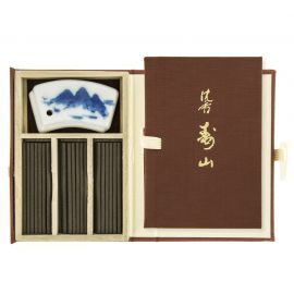 Small Book 60 sticks of incense, JINKOH JUZAN, Aloe of the Mountain of Fortune