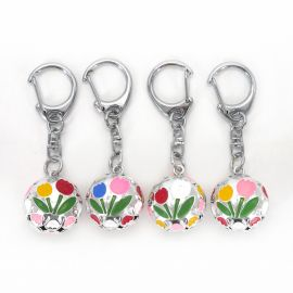 Keychain Japanese bell tulip, color of your choice KIHORUDA