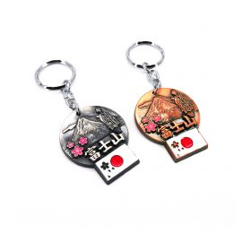 keyring in bronze or silver of your choice FUJINIMAIKO
