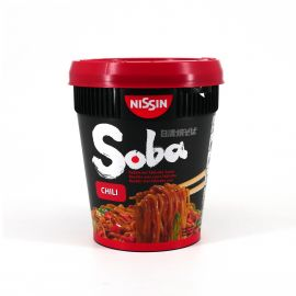Cup of Instant Yakisoba chili taste, NISSIN