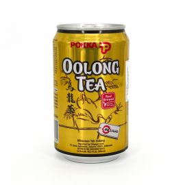 Oolong-Tee in der Dose - POKKA OOLONG TEA DRINK