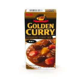 Mild Japanese curry, S&B GOLDEN CURRY, Very spicy curry bar