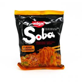 Sachet of instant Yakisoba noodles with classic flavor, NISSIN