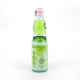 Ramune Japanese lemonade with melon flavor - RAMUNE MELON 200ML