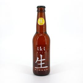 Japanese Iki beer with ginger in bottle - IKI 330ML