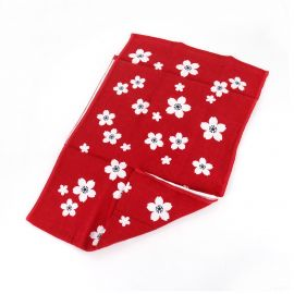 Japanese thick cotton headband, SAKURA FUBUKI