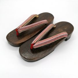 the pair of Japanese hooves Geta, HGT-2 LINES, lines