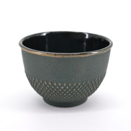 japanese cast iron teacup Arare bronze