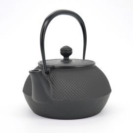 japanese cast iron kettle 0,9L compatible with induction hob IH ARARE