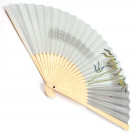 japanese fan bamboo & paper TAKE