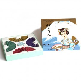 Box of cones d 'japanese incence 4 fragrances