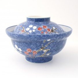 Japanese ceramic bowl with lid 15MYA329209638