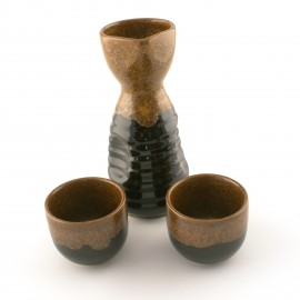 Japanese Sake Set black T258650