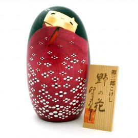 Japanese doll wooden KOKESHI No No Hana