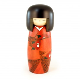 Japanese doll wooden KOKESHI. handmade in Japan - SOSHUN