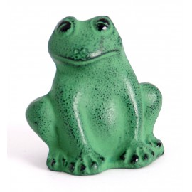 Frog in cast iron press paper