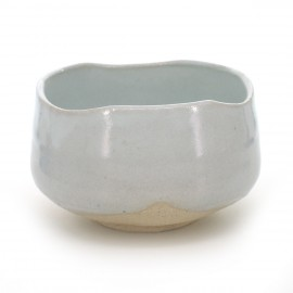 matcha tea bowl white SHIRO KOHIKI