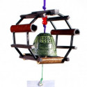 Japanese cast iron wing bells - furin