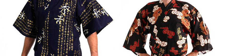 Japanese clothings for men - kimono