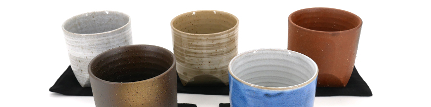 Japanese ceramic teacups