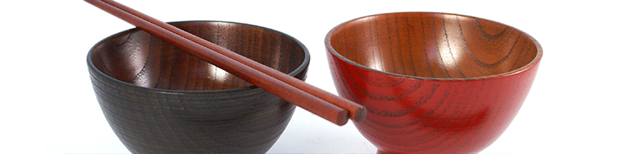 Japanese wood and resin items