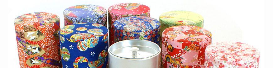 Japanese tea boxes - washi paper