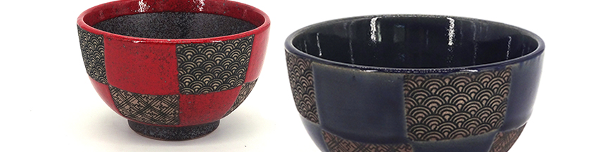 japanese ceramic rice bowls