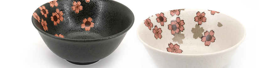 japanese ceramic soup bowls - donburi